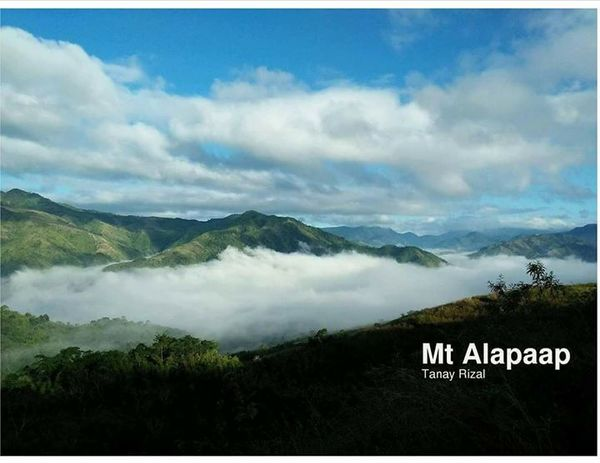 mt  alapaap   mountain climbing itineraries